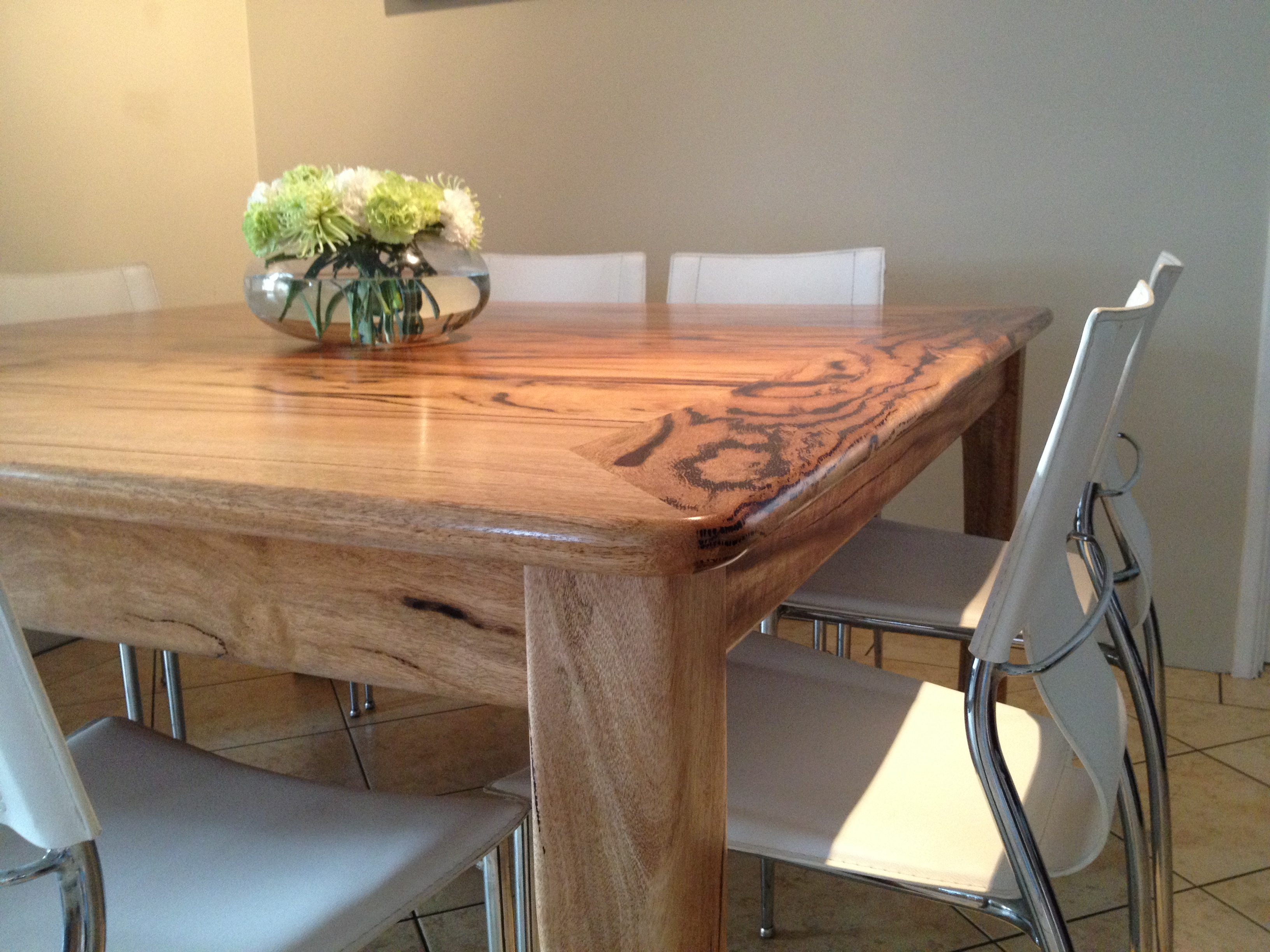 marri extendable dining room table completed