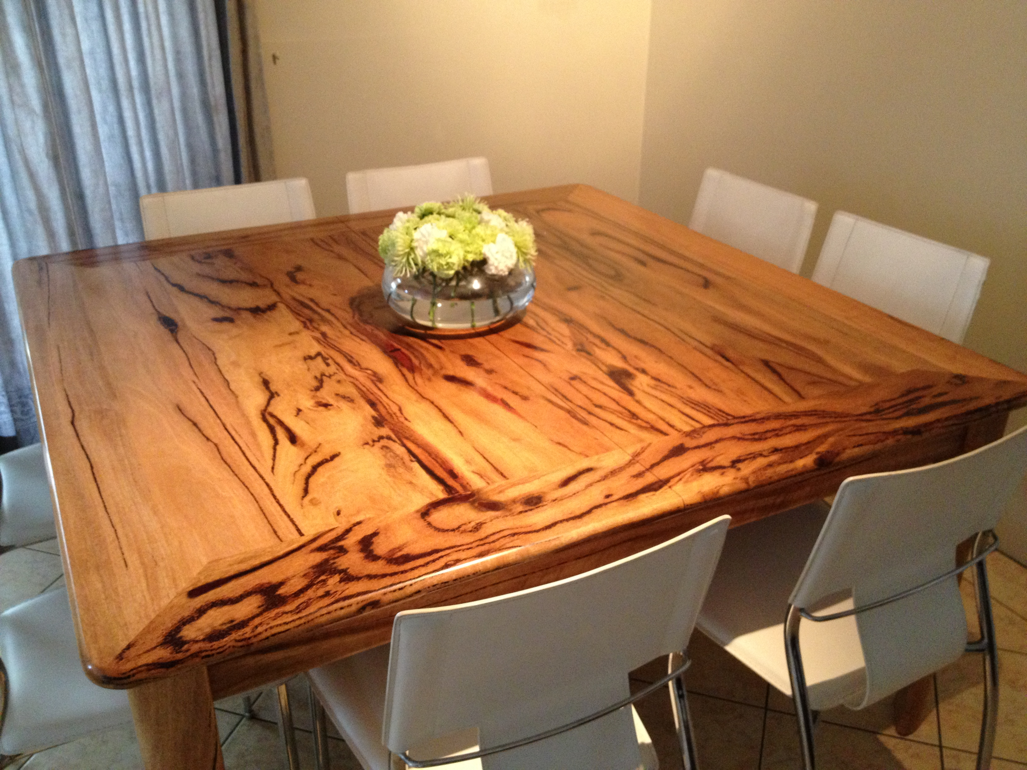 Feature Grain Marri Timber Table Top