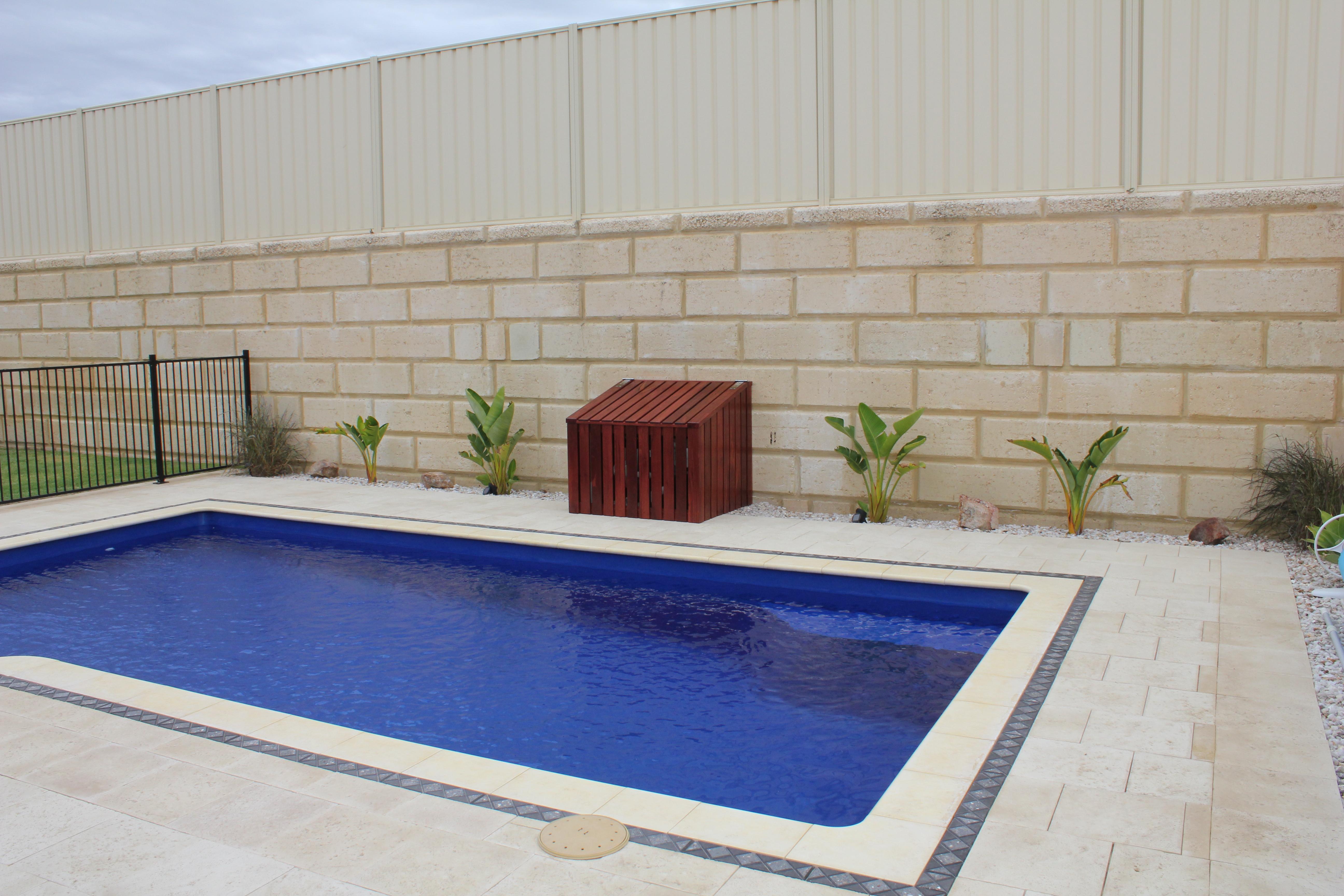 Gentil Pool Pump Enclosed In Solid Jarrah Box